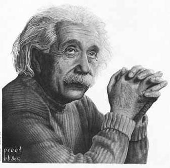 ����� ���� ...!! einstein-pencil-draw