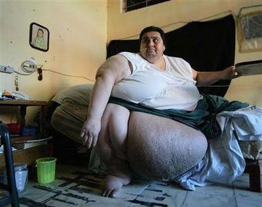 Most Fat People in the World
