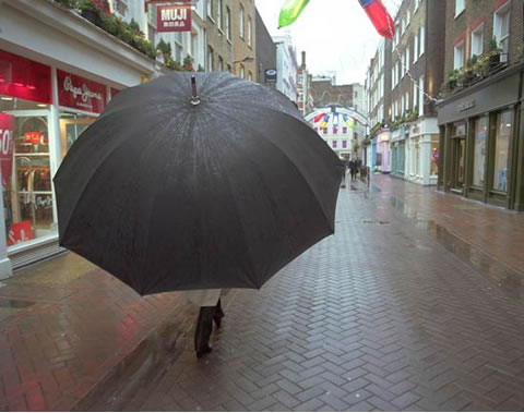 68869f301 Aleksandra Mir's Big Umbrella. - Neatorama