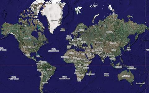 Google Maps Wikipedia Wikimapia Neatorama