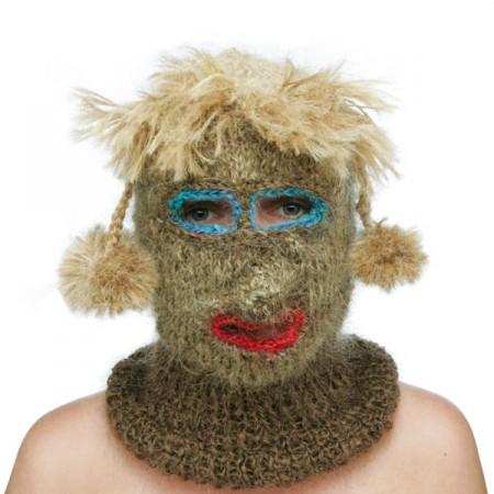 knitting things with human hair neatorama