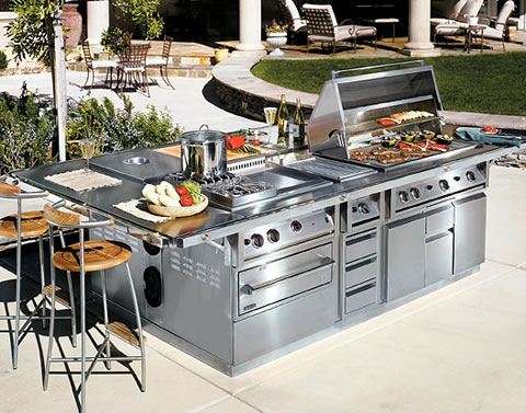 Outdoor on Talos Outdoor Cooking Suite