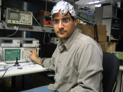 IHTFP Hack Gallery: Study on the effect of tinfoil hats on ...