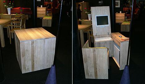 Compact Cube Pc Desk Neatorama