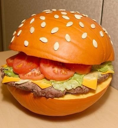 Big Mac pumpkin