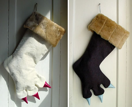 Monster Christmas Stockings. - Neatorama