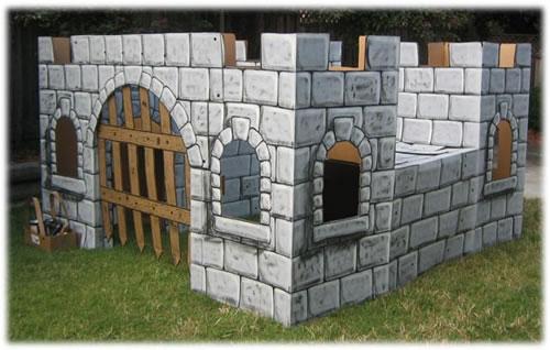 DIY Cardboard Castle Neatorama