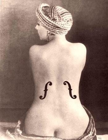 le violon dingres man ray