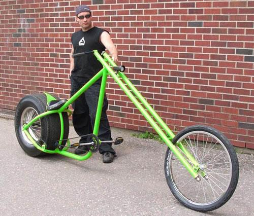 Brad Graham S Overkill Chopper Bicycle Neatorama
