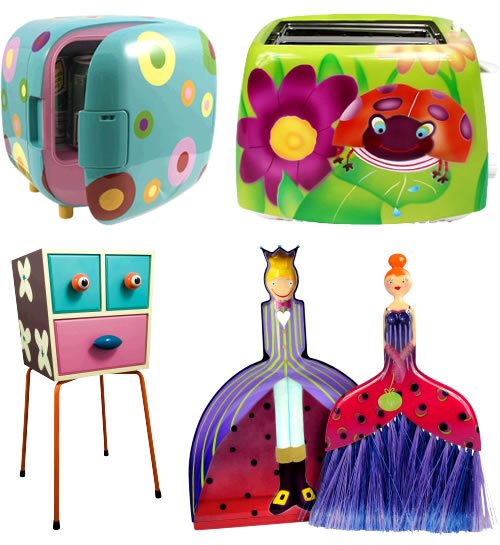 Cute Household Items From Pylones.