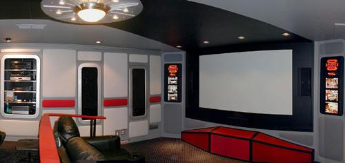Star Trek Home Theater Neatorama