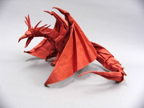 Satoshi Kamiya's Red Dragon