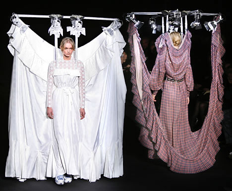 Viktor and rolf 39 s haute couture comes with own light and for Own the couture