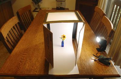 & DIY $10 Light Tent. - Neatorama
