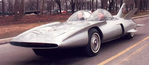 Vintage Futuristic Looking Concept Cars Neatorama