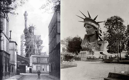 Can you write a essay for a history of statue of liberty?