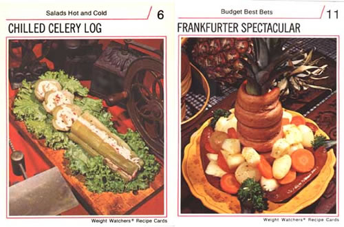 Diet recipe cards from the 1970s neatorama wendy mcclure of candyboots has a neat collection of diet recipe cards from the 1970s featuring food like chilled celery log and frankfurther spectacular forumfinder Images