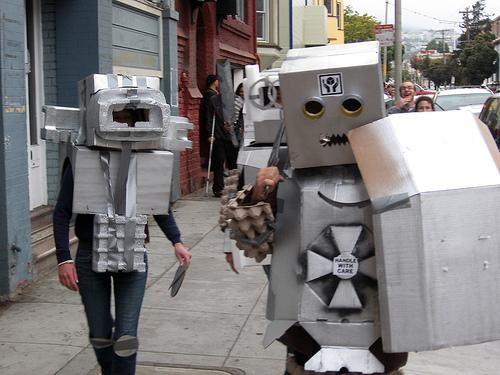 Cardboard Robots Name Cardboard Robot Rumble