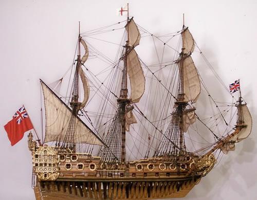 Сделай сам модели корабли