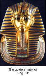 king-tut-golden-mask - Tomb designs - Lifestyle, Culture and Arts