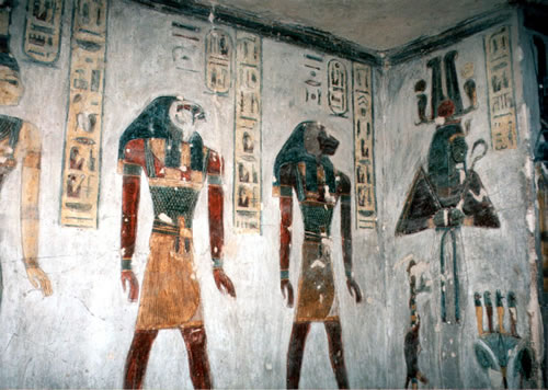 luxor-ramses-iii-valley-of-the-kings - Tomb designs - Lifestyle, Culture and Arts
