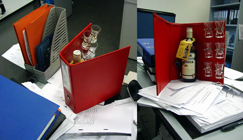 In The Event Of An Office Emergency, Consult The Red Binder: