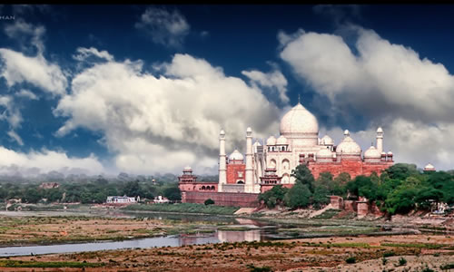taj-mahal-from-a-distance - Tomb designs - Lifestyle, Culture and Arts