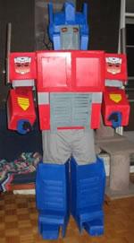 Робот трансформер своими руками