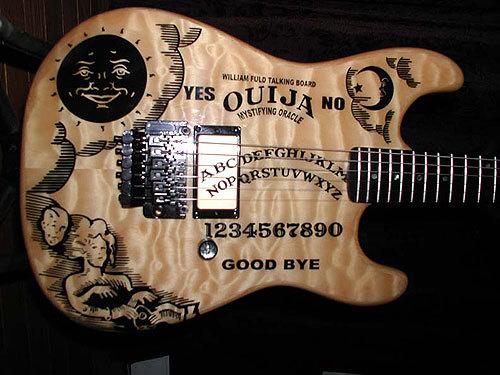 Brainwave The Ouija Board Guitar Made Michael Vrtis Link