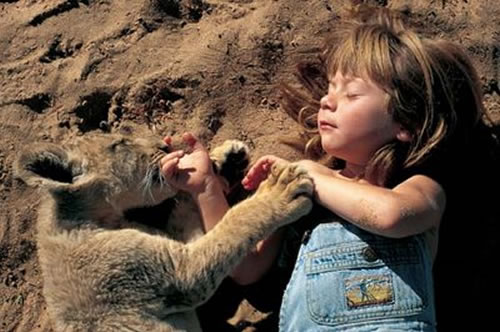 http://static.neatorama.com/images/2007-10/tippi-degre-special-bond-with-animals.jpg