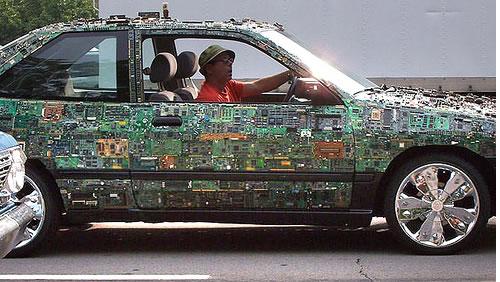 circuit board car neatorama rh neatorama com LED Light Circuit Board Tail Light Circuit Board