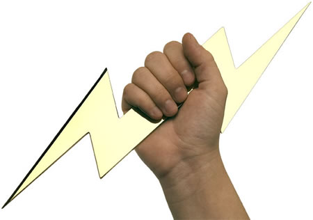 Dont Just Meekly Open Your Mails Rip Em Up Like A God Or Goddess With This Zeus Lightning Bolt Letter Opener You Can Even Take Out Agression At