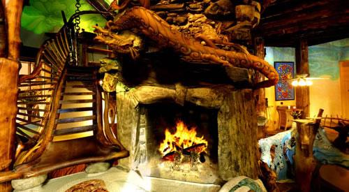 The Mushroom House Neatorama