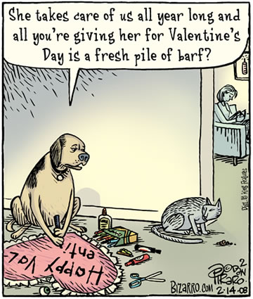 Valentine Monkey Puns