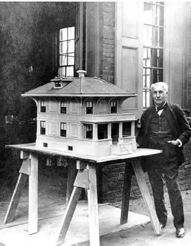 Thomas Edison's Quirky Invention: the Concrete House
