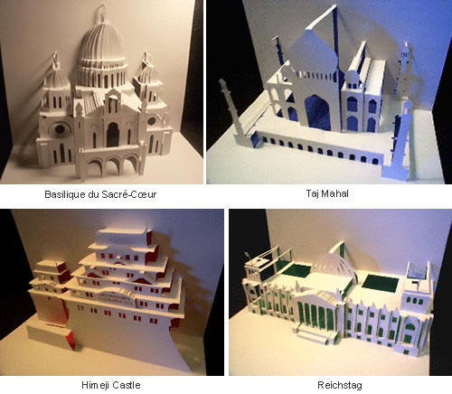 Origamic Architecture: Stunning Sculptures Cut Out of Paper ...