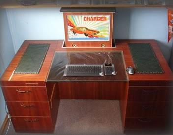 Stealthdesk Computer Desk And Case Mod Neatorama - Computer desk mod
