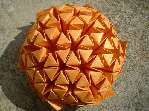 John Mckeever S Origami Tessellations Neatorama