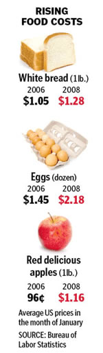 why did global food price rise