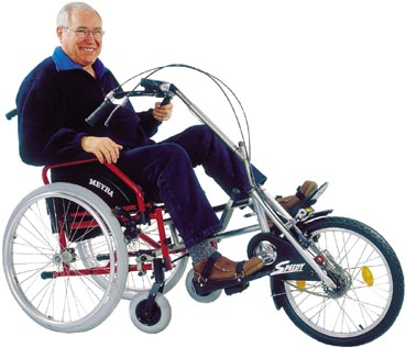 Pedalofit Turns Wheelchairs Into Tricycles Neatorama