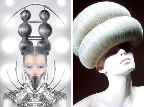avant garde hair designs at the coiffure award 2008. Black Bedroom Furniture Sets. Home Design Ideas
