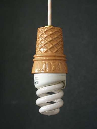 Ice Cream Light Bulb Neatorama