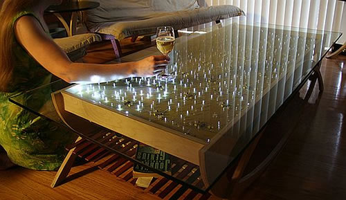 10 high tech coffee tables neatorama - Table basse high tech ...