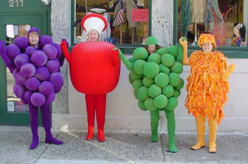 Костюм фруктов