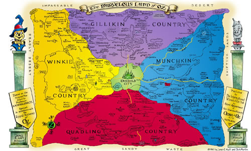 National Geographic Map Of The Day The Marvelous Land Of