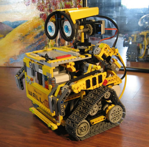 wall e lego neatorama. Black Bedroom Furniture Sets. Home Design Ideas