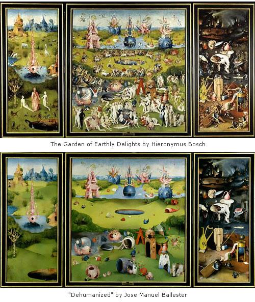 De humanized paintings by jose manuel ballester neatorama - Jose manuel ballester ...