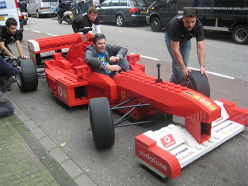 Lego Formule 1 Lego Formula 1 Masterpieces Gallery Motorsport Retro