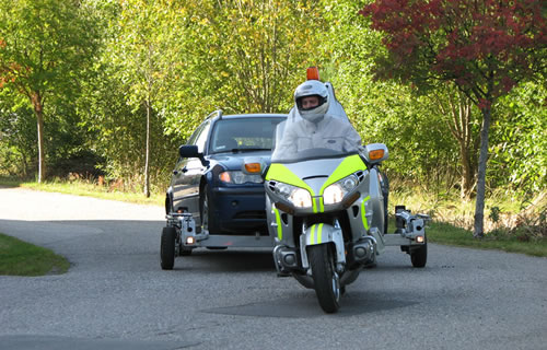 The Retriever Motorcycle That Can Tow A Car Neatorama