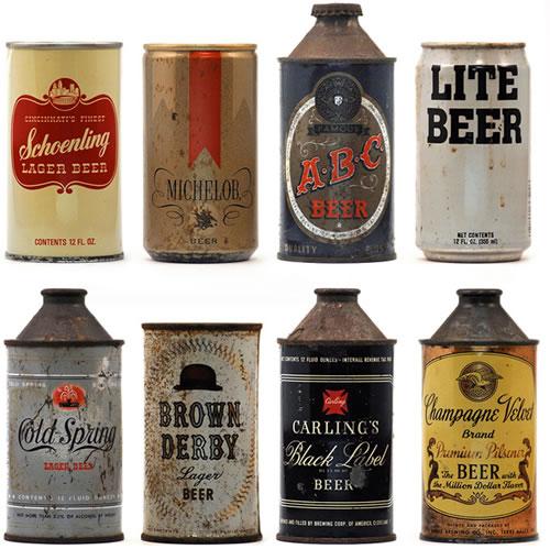Vintage Beer Can 12